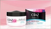 Olaz Essentials Double Action Nachtcreme