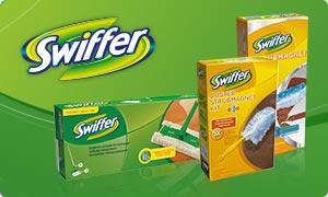 Produktbeschreibung Swiffer Komplett-Reinigungssystem