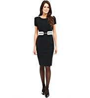 M&S Collection Colour Block Snaffle Shift Dress