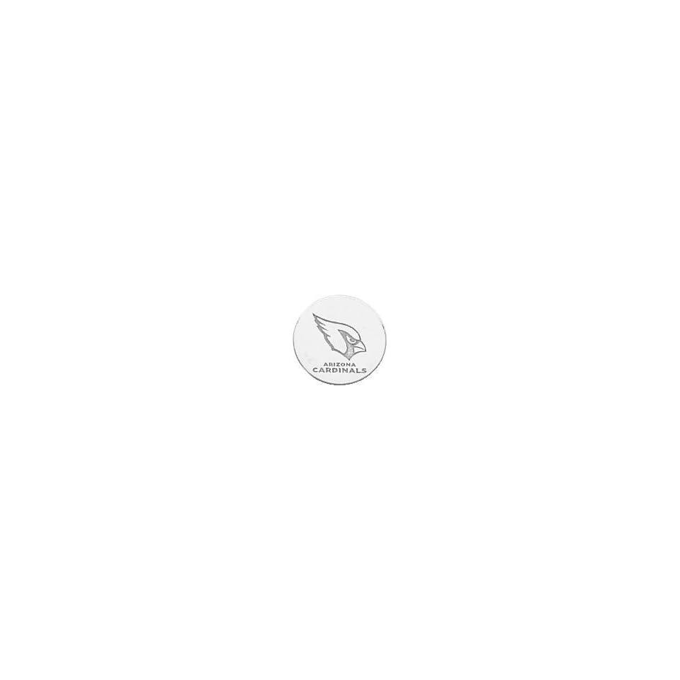 Sterling Silver NFL Arizona Cardinals Logo Tie Tac