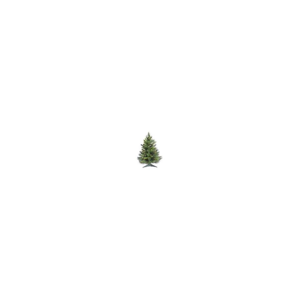 3 Pre Lit Cheyenne Pine Artificial Christmas Tree   Clear Dura