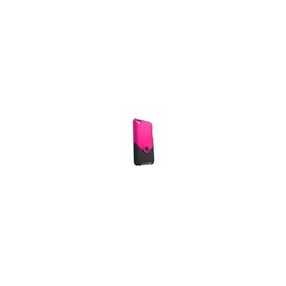 Ifrogz Luxe Original For Ipod Touch 4G Pink Black Injection Molded Super Polycarbonate