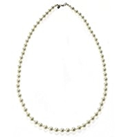M&S Collection Pearl Effect Classic Mid Collar Necklace