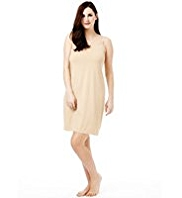 Plus Cool Comfort™ Lace Neckline Full Slip