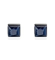 M&S Collection Square Faceted Stud Earrings