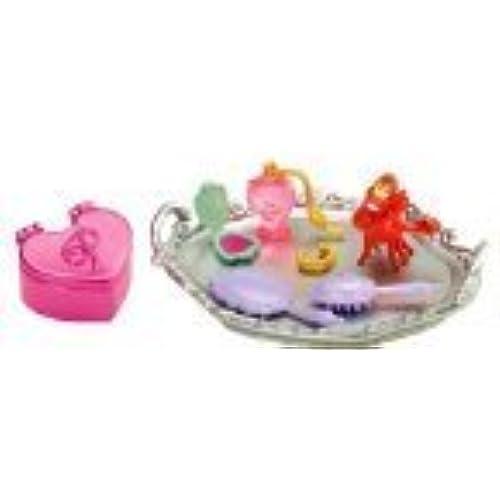 """장난감 Disney 디즈니 Princess 프린세스 The Little Mermaid 리틀 머메이드 Ariel 개미 L """" Royal Vanity Set"""" [병행수입품]"""