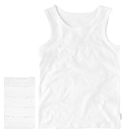5 Pack Autograph Superfine Pure Cotton Vests
