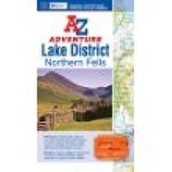 Lake District Northern Fells A-Z Adventure Atlas