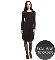 M&S Collection Swing Dress with Wool
