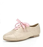 Glitter Lace Up Shoes