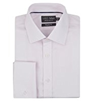 Performance Non-Iron Pure Cotton Striped Shirt