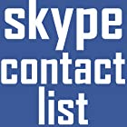 TK Contact list for Skype