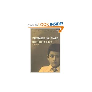 Out Of Place - Edward Said