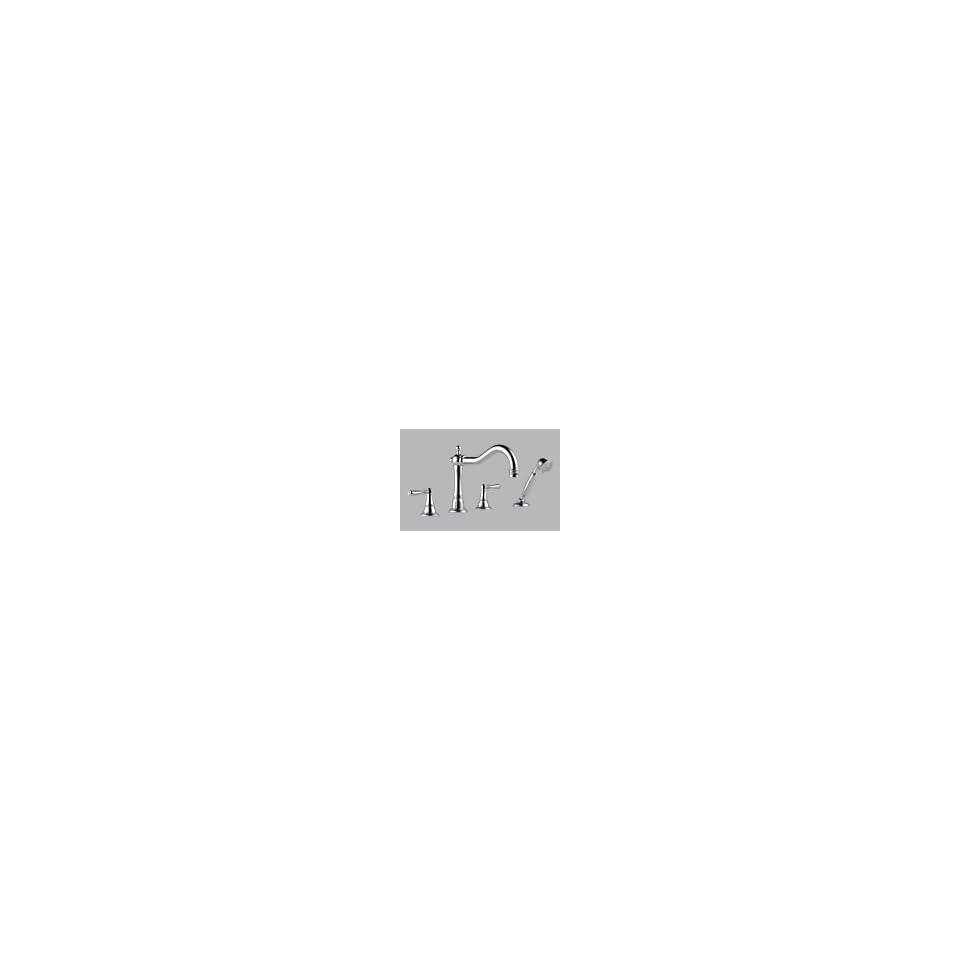 Brizo T67436 PC   Tresa Roman Tub Trim With Handshower   Chrome Finish