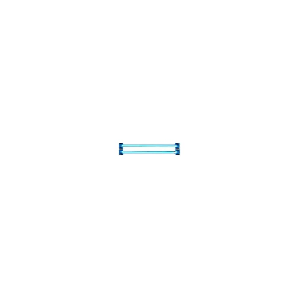 Mod Kit, Dual Cold Cathode Fluorescent Tube, Blue, 4 * (2 x 4 Tubes & 1 Power Inverter)