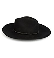 Autograph Lightweight Pure Wool Fedora Hat