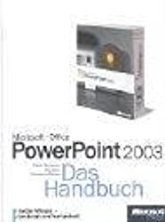 Microsoft Office PowerPoint 2003, Das Handbuch, m. CD-ROM