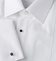 2in Longer Sartorial Pure Cotton Marcella Stud Dinner Shirt