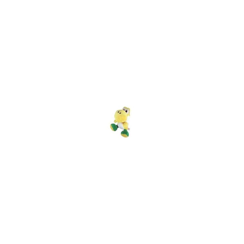 Nintendo Super Mario Bros. Wii Yellow Yoshi 7 Plush Doll