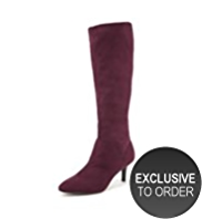 M&S Collection Pointed Toe Stretch Long Boots with Insolia®