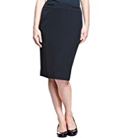 M&S Collection 2 Welt Pockets Panelled Skirt
