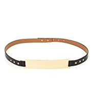 Limited Edition Metal Bar Waist Belt