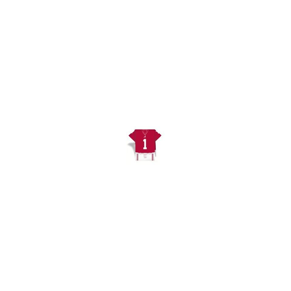 Set of 96 Alabama Crimson Tide Football JerseyNaps® Party Napkins NCAA College Athletics