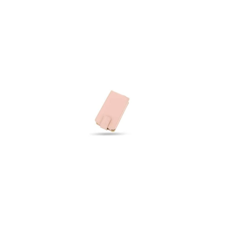 Microsoft Zune Leather Flip Case (Pink)