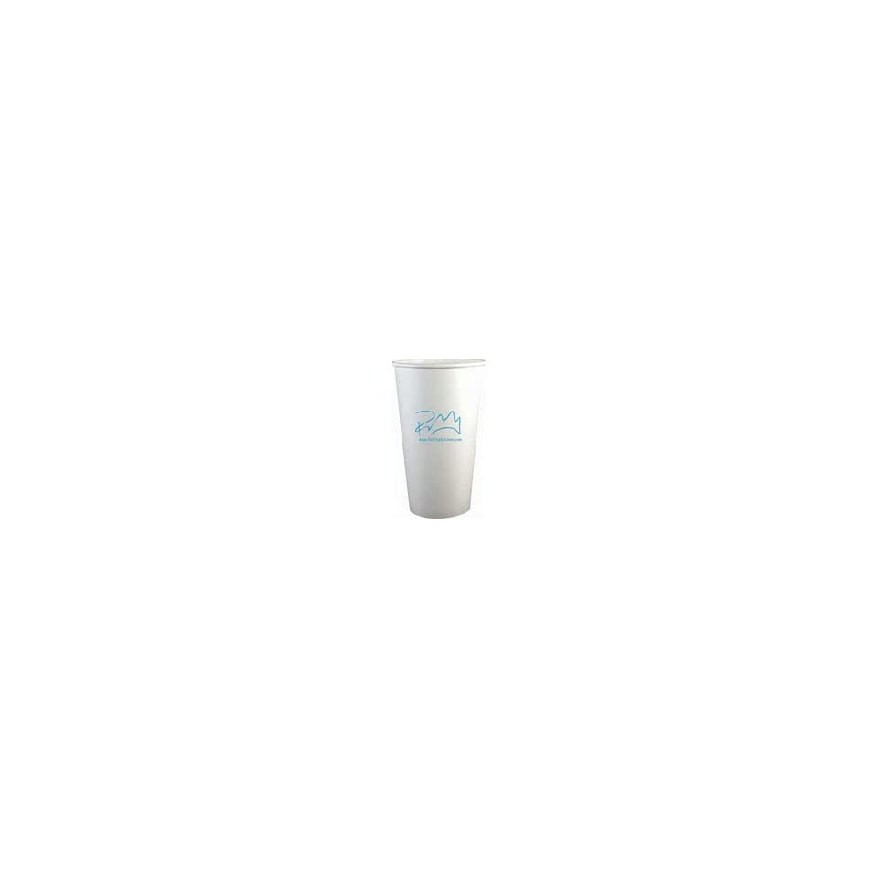 16 oz. Compostable Paper Hot Cup , All Eco Tainers are pre printed with Logo and eco friendly info near cup bottom and along cup seam,full case of 1000