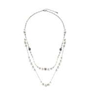 M&S Collection Pearl Effect Graduated Collar Necklace