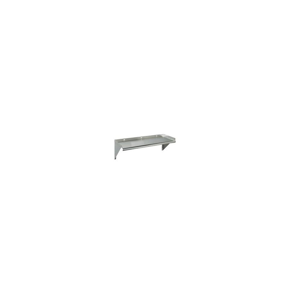 Tarrison WS 2424 Heavy Duty 16 Gauge Stainless Steel Bracket Wall Mounting Below Shelf for Microwave or Toaster, 24 Length x 24 Depth