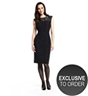 M&S Collection Floral Lace Yoke Dress