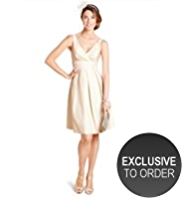 M&S Collection Pleated Fit & Flare Dress
