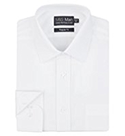 2in Shorter Quick Iron Twill Shirt
