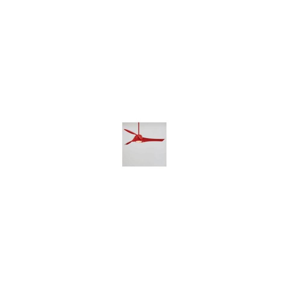 Minka Aire F803 RD Artemis Ceiling Fan in Red