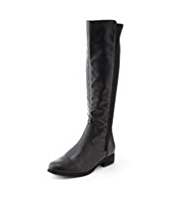 M&S Collection Panelled Riding Boots