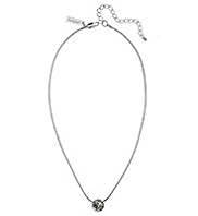Autograph Round Pendant Necklace MADE WITH SWAROVSKI® ELEMENTS