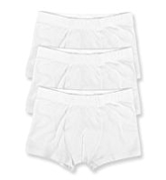 3 Pack Cotton Rich Plain Trunks