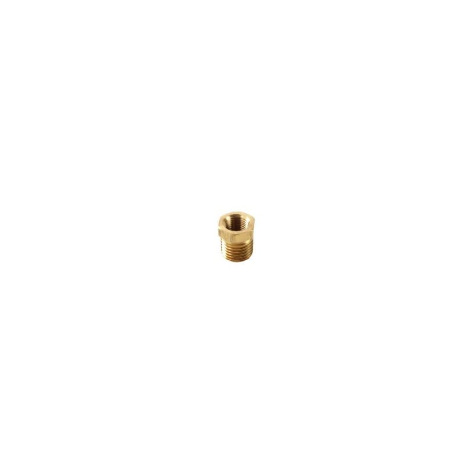Anderson Metals Corp 3/8X1/8 Brs Hex Bushing (Pack Of 1 Brass Pipe Coupling Reducers & Bushings