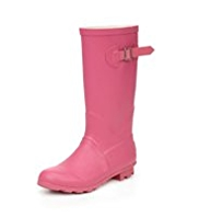 Buckle & Strap Welly Boots