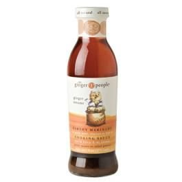Ginger People, Ginger Sesame Vinaigrette, Marinade & Cooking Sauce, 12.7 Ounce Bottle