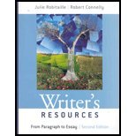 Writers Resources : From Paragraph to Essay - With CD
