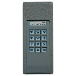 Garage Door Parts Multicode 4200 Gate or Garagee Door Opener Keypad from Garage Door Parts