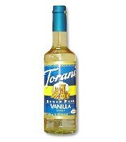 Torani Sugar Free Vanilla Syrup with Splenda, 750mL