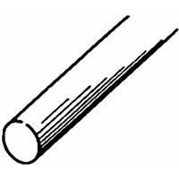 "Solid Brass Rod 1/8"", Carded"