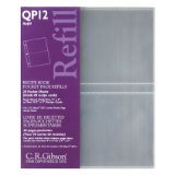 CR Gibson QP-12 Small Recipe Book Pocket Page Refill