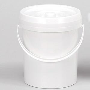 LOCKWEILER - Cubo para pañales (7 l), color blanco