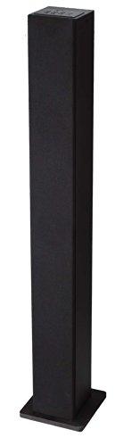 Sylvania Sp263G Bluetooth Fm Radio Usb Charging Tower Speaker, Black
