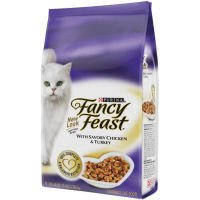 Image of Fancy Feast Gourmet Savory Chicken and Turkey Gourmet Dry Cat Food
