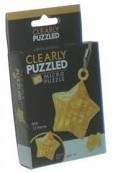 Clearly Puzzled Micro Keychain - Star